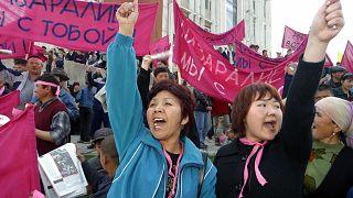 Kırgızistan protestoları