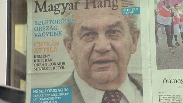 A Magyar Hang címlapja