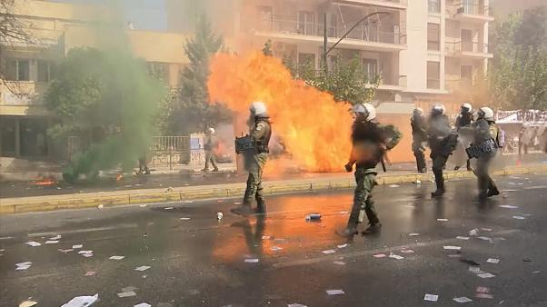 Clashes after Golden Dawn verdict in Athens