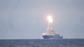 آزمایش موشک فراصوتی جدید روسیه در دریای سفید