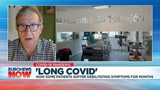 Epidemiologist Paul Garner tells Euronews about his own months-long struggle with 'long COVID'