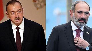 نخستوزیر ارمنستان و رئیسجمهوری آذربایجان