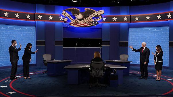 تعامل ترامب مع جائحة كورونا نقطة سجال رئيسية في مناظرة بنس وهاريس