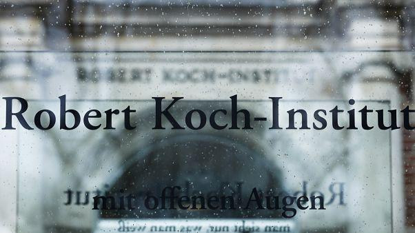 L'entrée de l'Institut Robert Koch, l'agence sanitaire fédérale, à Berlin, le 27 février 2020