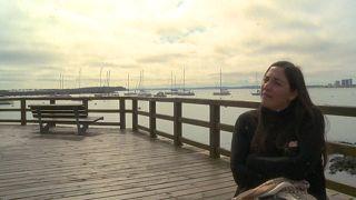 Natalia Zurbarán, una argentina instalada recientemente en Punta del Este