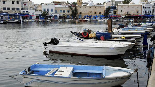 Hafen von Bizerte in Tunesien