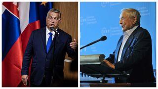 Orbán Viktor és Soros György