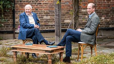 The Duke of Cambridge launched the prize today with an appearance on the BBC alongside David Attenborough.