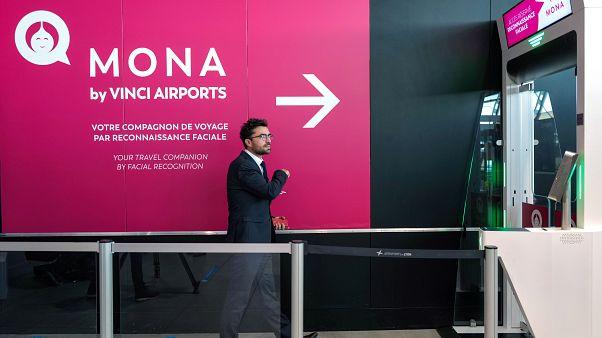 La reconnaissance faciale à l'aéroport de Lyon