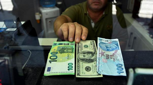 Euro, dolar ve Türk Lirası