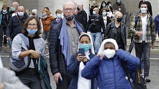 Le masque obligatoire en Italie