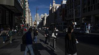 Madrid sokaklar