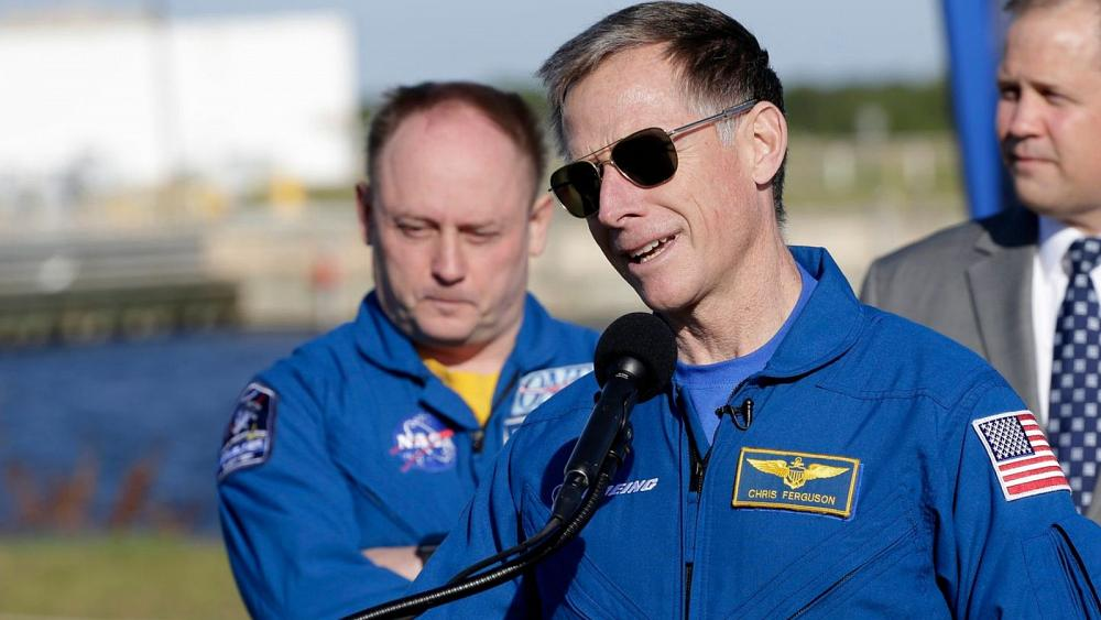 Chief astronaut swaps space trip for daughter's wedding