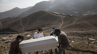 Peru hat die höchste Coronavirus-Sterberate der Welt