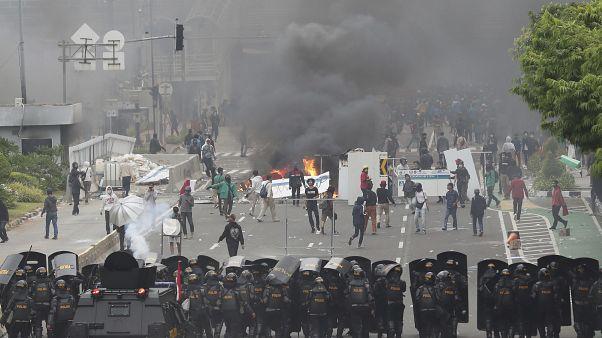Столкновения в Джакарте