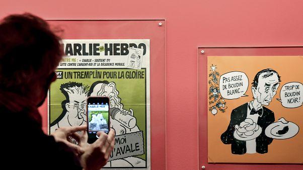 """معرض """"ضحكة كابو"""" في قاعة المدينة في باريس"""