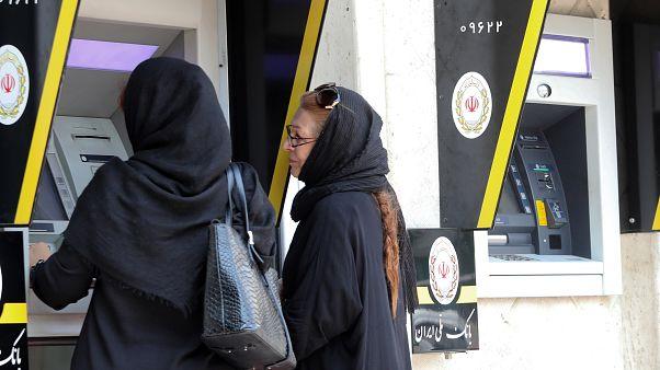 موزع بنكي نقدي في طهران