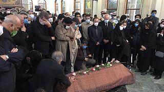 اقامه نماز بر پیکر محمدرضا شجریان