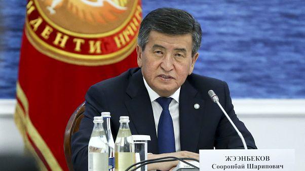 Kırgızistan Cumhurbaşkanı Sooronbay Ceenbekov
