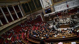 Archives : l'Assemblée nationale française, le 6 octobre 2020