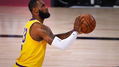 NBA : Les Lakers proches du sacre