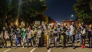 مسيرة ضد الإفراج عن الشرطي شوفين