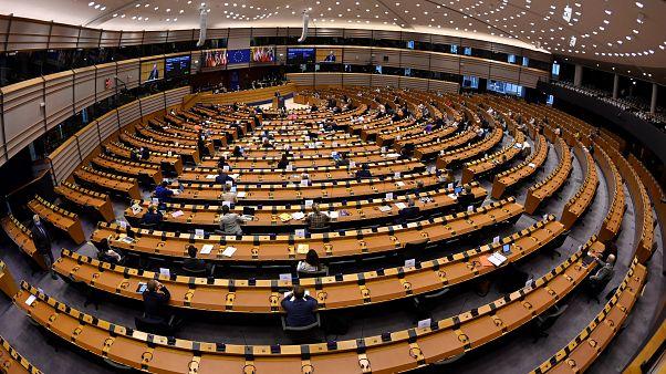 البرلمان الأوروبي في بروكسل