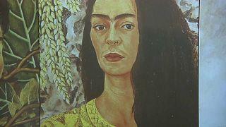 No-Comment-Video: Interaktive Frida-Kahlo-Ausstellung in Mailand