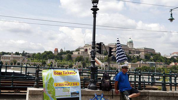Los turistas extranjeros han desaparecido de las calles de Budapest