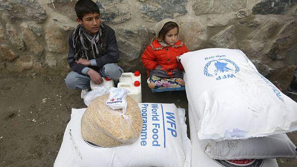 Hilfe durch das WORLD FOOD PROGRAMME
