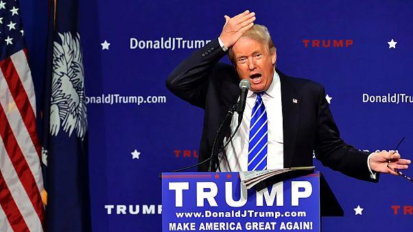 Trump a 2016-os kampányban bizonyítja, hogy haja valódi