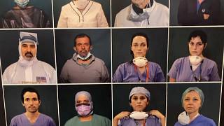COVID-19 photo exhibition in Rome is a moving tribute to Italians