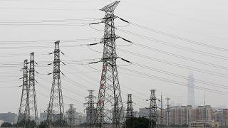 Çin'de elektrik ağı