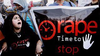 مظاهرة للمطالبة بوقف جرائم الاغتصاب في مصر