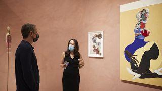 Ο Κυριάκος Μητσοτάκης στο Εθνικό Μουσείο Σύγχρονης Τέχνης