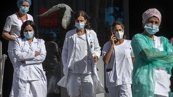 Ιατρικό προσωπικό στην Ισπανία