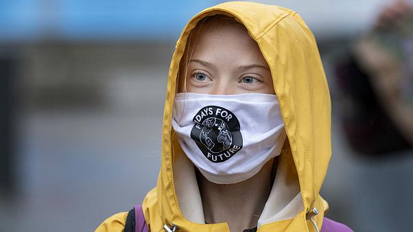 İsveçli çevre aktivisti Greta Thunberg