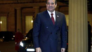 O πρόεδρος της Αιγύπτου, Αλ Σίσι