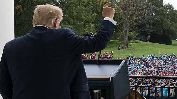 """Donald Trump """"já não transmite Covid-19"""""""