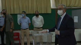 Mustafa Akinci, presidente saliente de la República Turca de Chipre del Norte