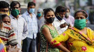 La India mantiene al máximo su capacidad de pruebas de detección alcanzando hoy un total de 85 millones de tests desde el inicio de la pandemia.