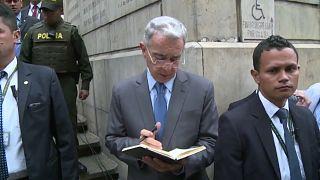 El expresidente de Colombia Álvaro Uribe