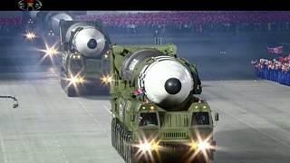 من الاستعراض العسكري في كوريا الشمالية