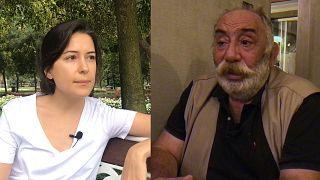 Azeri gazeteci Geybulla ve Ermeni gazeteci  Estukyan