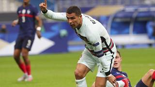 Cristiano Ronaldo liderou o ataque e no final festejou apenas um ponto
