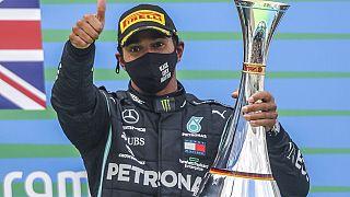 Hamilton auf dem Nürburgring