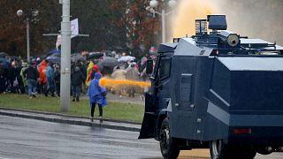 Λευκορωσία: Νέα επεισόδια μεταξύ αστυνομίας και διαδηλωτών