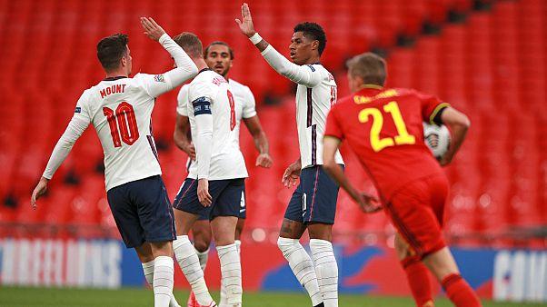 لاعبو منتخب إنجلترا