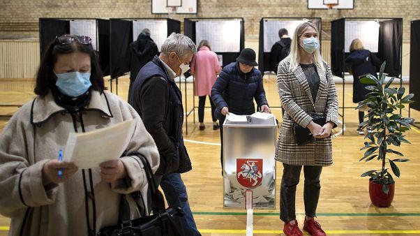 Wahlbüro in Vilnius