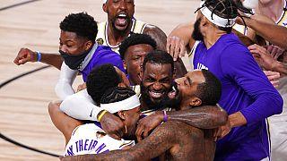 Lakers overcome Miami Heat to win 17th NBA title